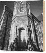 Towering Grace Wood Print