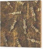 Towers Of Old Britain Wood Print