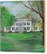 Town And Country Farm Lexington Wood Print