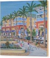 Town Center Abacoa Jupiter Wood Print
