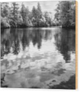 Town Creek Wood Print