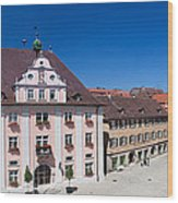 Town Hall And St. Martin Cathedral Wood Print