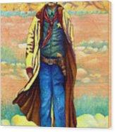 Town Marshall Wood Print
