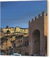 Town Of Assisi, Italy Wood Print
