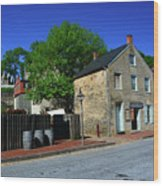 Town Of Harpers Ferry Wood Print