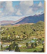 Town Of Zeehan Australia Wood Print