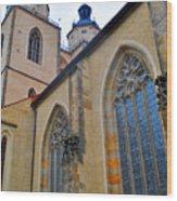 Town Parish Church Wood Print