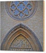 Town Parish Entrance Wood Print