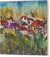 Town To Country Wood Print