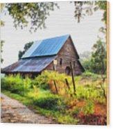 Townville Barn Wood Print