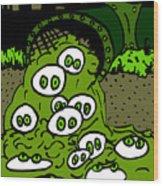 Toxic Cronkle Wood Print