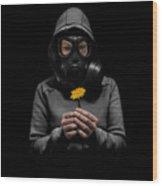 Toxic Hope Wood Print