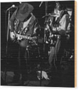 Toy And Tommy At Winterland 1976 Wood Print
