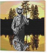 Toy Caldwell At Amber Lake Wood Print