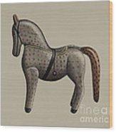 Toy Horse Wood Print