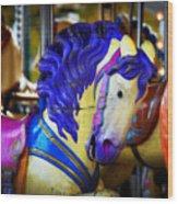 Toy Pegasus Wood Print