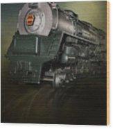 Toy Train Wood Print