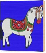 Toy Wooden Horse 1 Wood Print