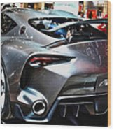 Toyota Ft-1 Concept Number 1 Wood Print
