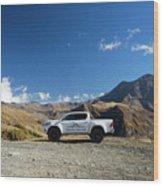 Toyota Hilux At37 Wood Print