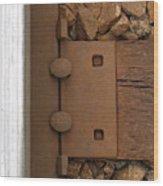 Track Through Pewee Wood Print