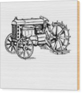 Tractor 1919 Henry Ford T-shirt Wood Print