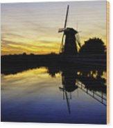 Traditional Dutch Wood Print