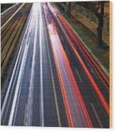 Traffic Lights Wood Print