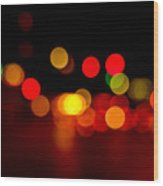 Traffic Lights Number 8 Wood Print