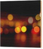 Traffic Lights Number 9 Wood Print