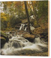 Trahlyta Falls Wood Print