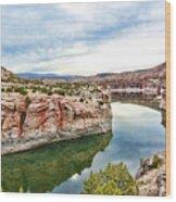 Trail Creek Canyon Wood Print