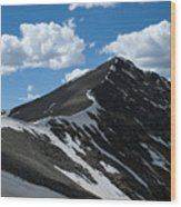 Trail From Grays To Torreys Wood Print