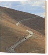 Trail Ridge Road Rocky Mountain National Park Wood Print
