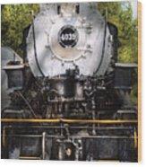 Train - Engine - 4039 American Locomotive Company  Wood Print
