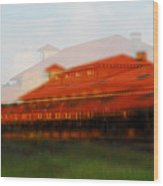 Train Depot Wood Print by Wayne Archer