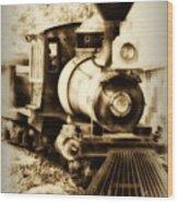 Train Keeps A Rolling Wood Print
