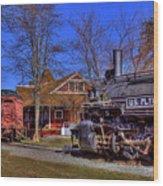 Train No. 6 Wood Print