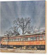Train Series 3 Wood Print