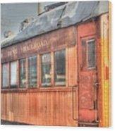 Train Series 5 Wood Print