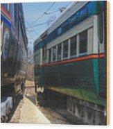 Train Series 6 Wood Print