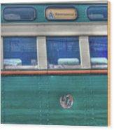 Train Series 8 Wood Print