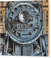 Trains - Steam Locomotive 1031 Wood Print