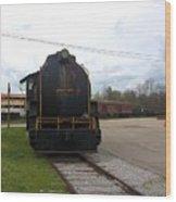 Trains 3 Org Wood Print
