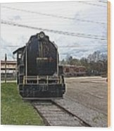 Trains 3 Paint Org Wood Print
