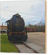 Trains 3 Selfoc Wood Print