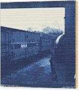 Trains 7 3a Wood Print