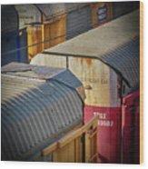 Trains - Nashville Wood Print