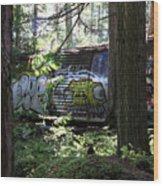 Trainwreck Monster Wood Print