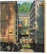 Trainyard 5 Wood Print